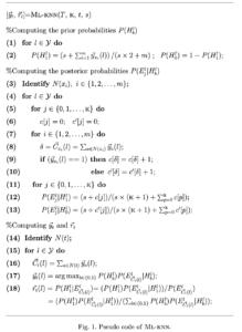 ML-KNN Pseudo Code
